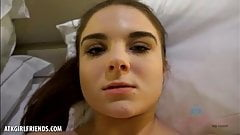 You fuck young Megan Marx and cum on her face (POV Style)