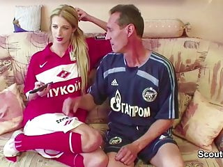 Adult casting coach videos - 67yr old coach fucks 18yr old skinny teen with his big cock