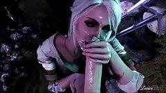 Ciri Compilation - Witcher 3 Porn