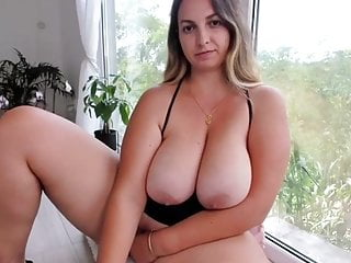 Great tits Hot babe with great tits