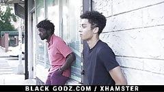 BlackGodz - Black God Pounds A Newcomers TIght Asshole