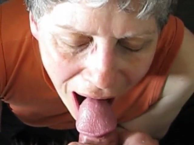 Amateur Granny Cum Mouth
