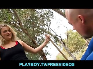 Milf hitch hikers Busty blonde hiker is caught trespessasing
