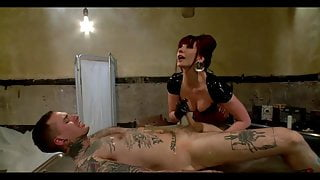 Boy 18 years then the mistress is massaging his prostate