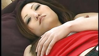 Hot Asian creampied by older dude