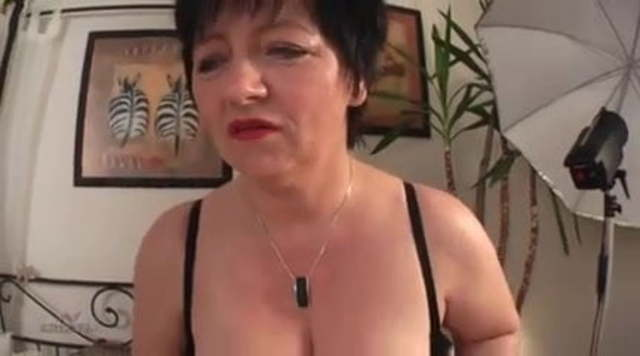German Oma Petra Casting Porno