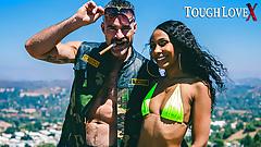 TOUGHLOVEX – Karl's Kastings with ebony babe Olivia Jayy