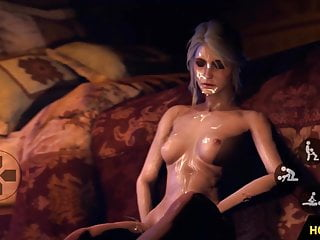 Virtual 3d computer animation fuck Witcher futa yennefer fucks triss merigold 3d animation porn