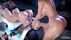 Sophia - Takes Massive Futa Cock Vaginal and Anal