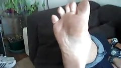 French Blonde Stinky Feet