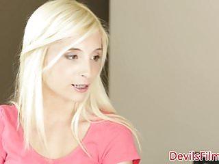 Teen babysitter videos - Teen babysitter pounded on dining table
