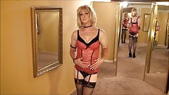 Do You Like My Red Lingerie?