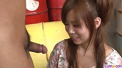 Konatsu Aozona throats cock in heavy XXX scenes