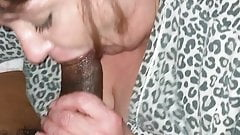 Sucking and swallowing gilf