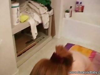 Slutload blowjob in the shower - Blowjob in the shower