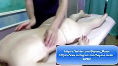 Asmr Massage - Girl Back Massage - Sensual - Relaxing