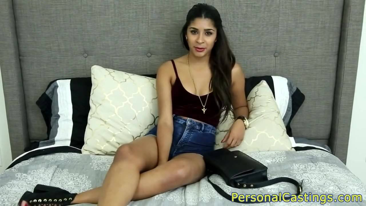 Babe On Porno Casting indian casting beauty rides fat cock