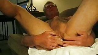 Dirty Old Man Pleasures Himself Man Hub