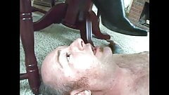 Fetish Ladies Order Guys to Lick Their Boots Clean.