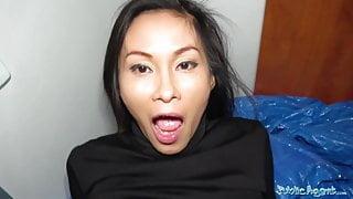 Public Agent Hot Thai beauty fucked hard in horny fuck