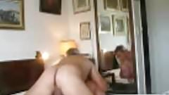 Two mature old men fucking
