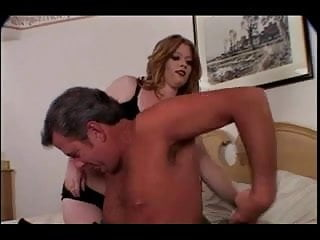 Man sex strap Redhead cooze daejha dons a strap on for old man