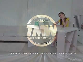 Naked old n Teenmegaworld -old n young- old man fucks a fresh babe