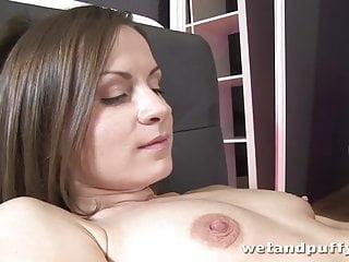 Girls pussy pump Pussy pump fun for pretty brunette babe xara