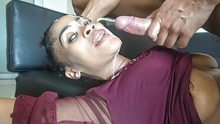 Sloppy Head from Ebony Deepthroat Queen