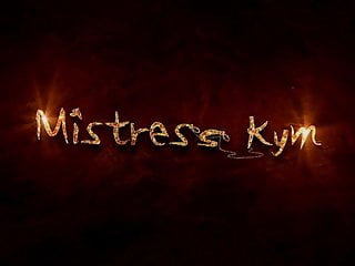 Submissive sex no pain - Mistress kym sitting on her submissive teasing him with pain