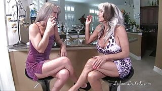 Leilani Lei and Sally D'Angelo Party and Fuck
