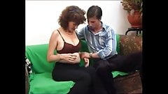 hairy mom having sex with neighbor's son