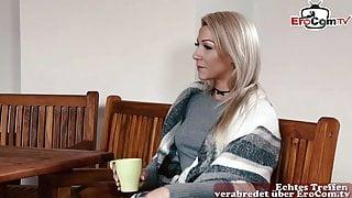 German young skinny rich blonde teen sedcues craftsman