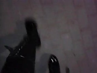 Slutload gay 8 inch - Night stroll in my 8 inch platform boots