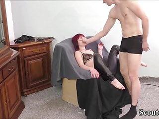 Milf bondage fuck - German amateur couple in homemade bdsm bondage fuck