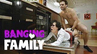 Banging Family – Stepbro Fucks Me While I'm Stuck