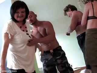 Fucking moms 3 - 3 moms and grannies fucked by 1 young lucky boy