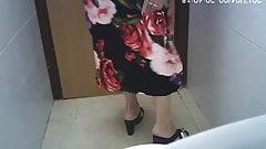 Spycam - voyeur escondido, banheiro feminino, parte traseira