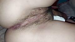 Sexy hairy vagina