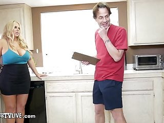 Depot discount lingerie - Curvy milf karen fisher fucks builder eric john for discount
