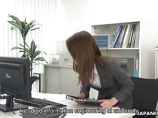 Big hairy lady uncensored - Japanese lady, mao saitou is masturbating, uncensored