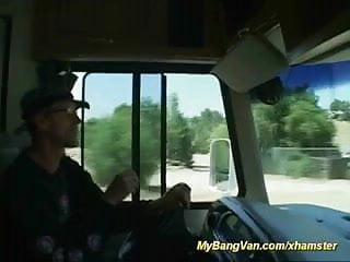 Tranny bangbus - Bangbus anal fun