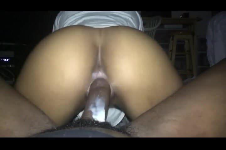 Ebony Riding Bbc Creampie