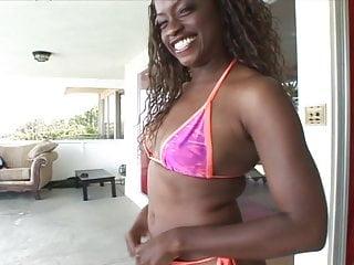 Hot dark girl lingerie Dark skinned honey teases and strips