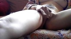 Tat Girl squirts a nice load