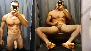 Lick my feet bitch! Humiliation by a Russian straight man