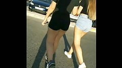 Two jb teen asses candid pt.2