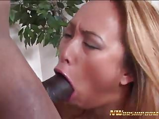Asians taking black cock Asian slut taking in the ass big black cock interracial anal