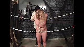 interrogation of a blonde