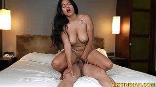 Big Boobs Bollywood actress on casting couch with director